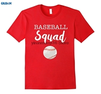 GILDAN 100 Cotton O Neck Printed T Shirt Baseball Squad Sister Matching Group Or Team T