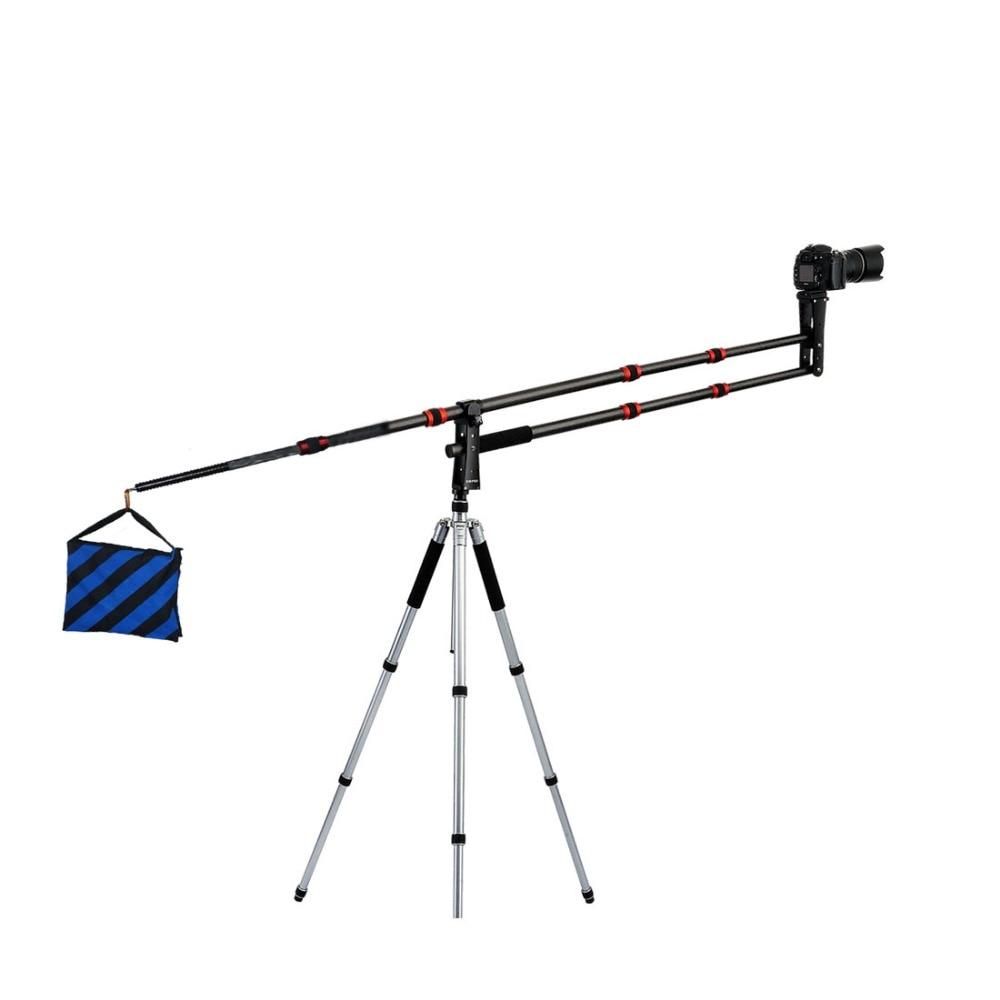 DIGIPOD professionnel DSLR caméra de photographie en Fiber de carbone Jib CJIB-20C