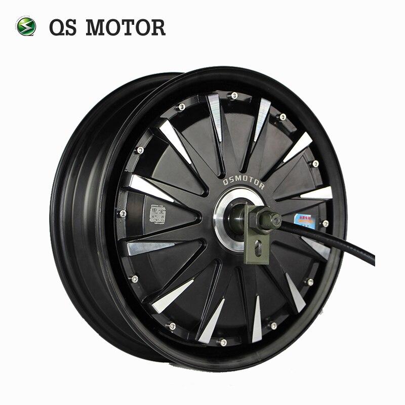 QS Moteur 12 pouces 260 3000 w 40 H V3 Électrique Moto Conversion Kit