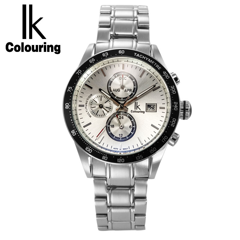 original ailang mechanical watches men waterproof luminous calendar automatic watch men montre homme relogio masculino 2017 Ik coloring men watch mechanical calendar luminous silver complete steel automatic fashion watches casual men watch montre homme