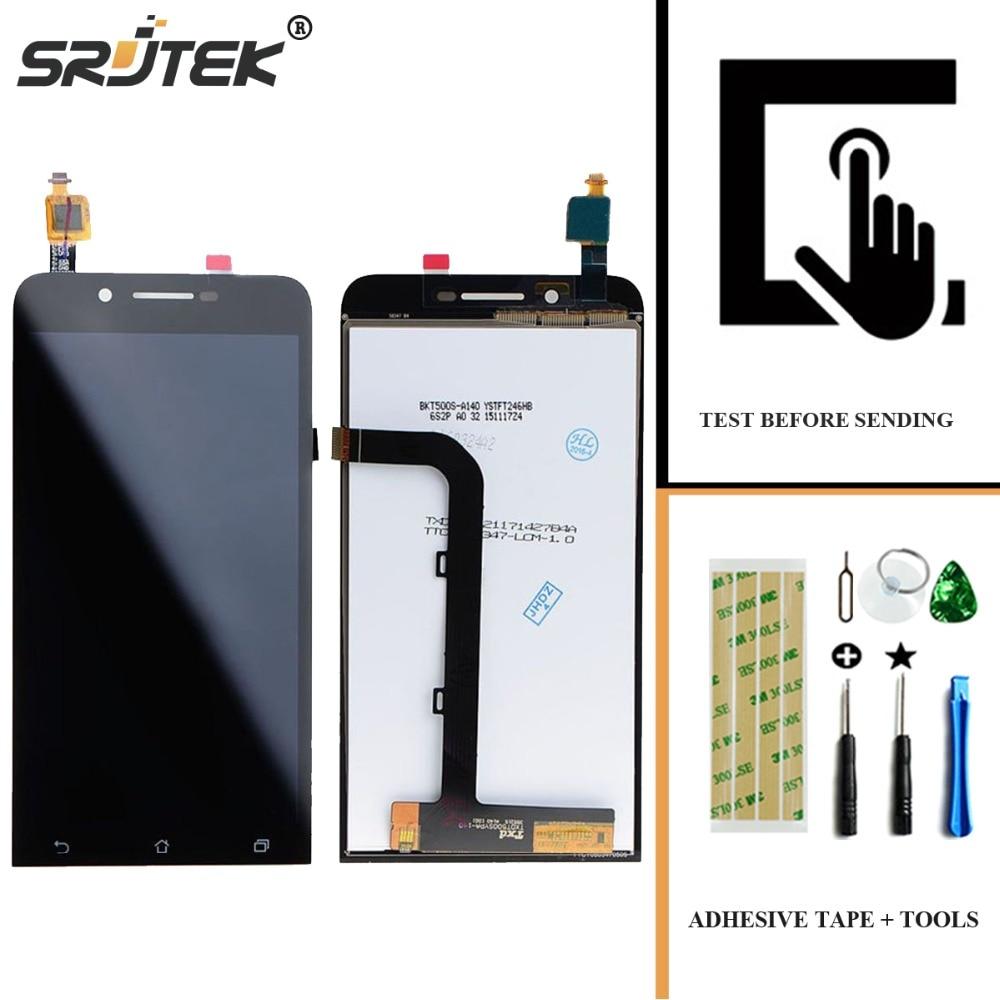 imágenes para Srjtek Para Asus ZenFone Ir ZC500TG Z00VD LCD Display + Touch Screen Panel Digitalizador Accesorios piezas de repuesto