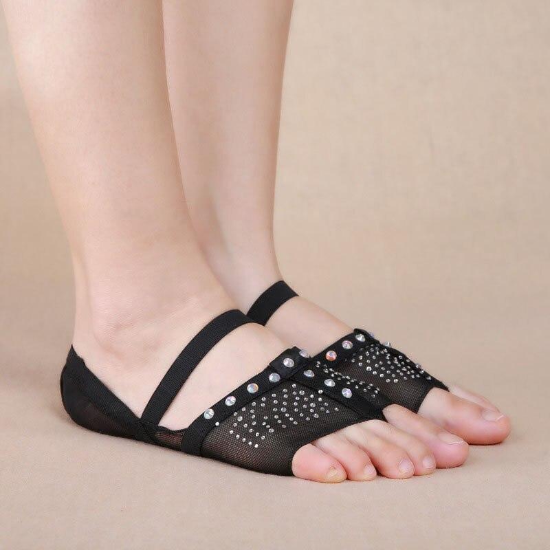 Professional Ballet Flats Women Belly Dancing Foot Thong Dance Socks Accessories Shoe Toe Pads