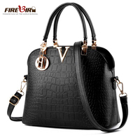 2017 Luxury Crocodile Leather Women Handbags Famous Brands Designer Women Messenger Bags Female Shoulder Bag Women