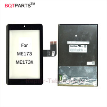 100% tested new 7″ inch ME173 lcd screen display For Asus MeMO Pad HD 7 ME173 ME173X K00U K00B Black Touch Screen Digitizer