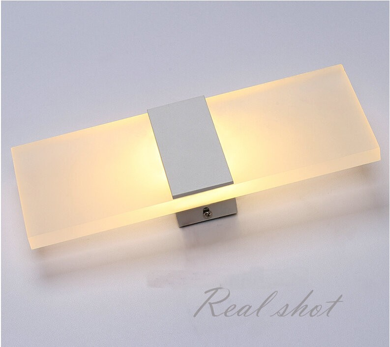 Feimefeiyou Mini 3/6/12 / 18W Led akrila sienas lampa AC85-265V 14CM - Iekštelpu apgaismojums - Foto 2