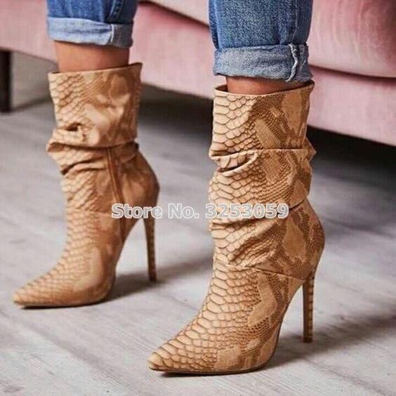 Sexy calf boots