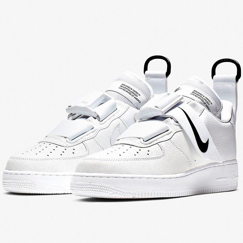 Nike air force 1 original masculino skateboarding sapatos de tênis anti escorregadio # AO1531 101