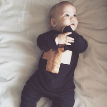 2016 New baby boy girl clothes set Long sleeve cute baby romper infant clothes newborn baby clothing set jumpsuit toddler suit