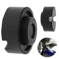 Черный резиновый шлицевой пол Jack Pad рамка рельсовый адаптер для щепотку сварки боковой колодки