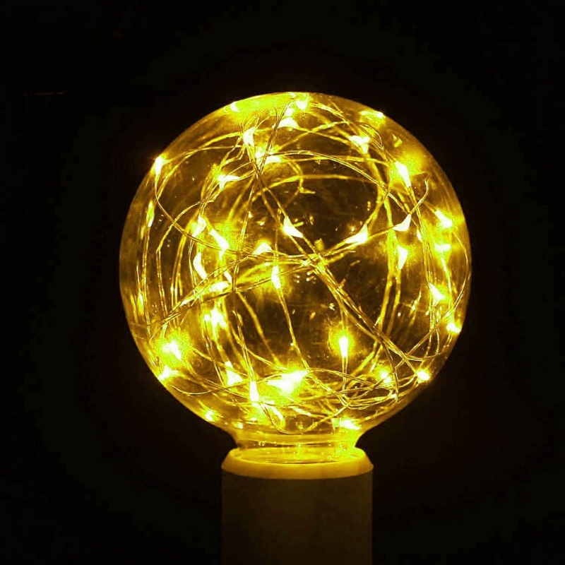 Vintage Fairy LED Bulb RGB String Decoration Light Filament Lamp For Decor Christmas Holiday Wedding Lighting E27 85-265V