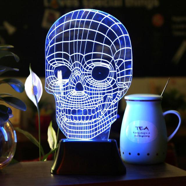 Led Night Lights Lámpara Atmósfera 3D para Niños Escritorio de la Tabla del USB lámpara Nightlight Star Wars Lamparas Llevó Luces de La Noche 3D Visual