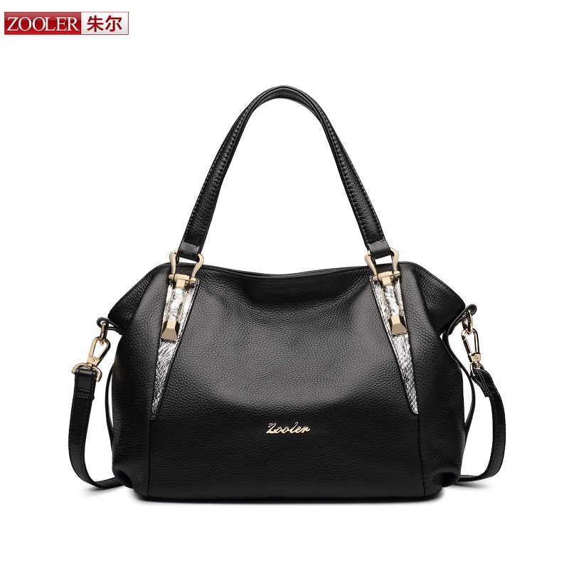 sales ZOOLER genuine leather bag top handle handbag super soft woman leather shoulder bags famous brand bolsa feminina #H106 new product sales zooler brand zipper cowhide bag top handle shoulder bag simply solid genuine leather bag women bag bolsas c108