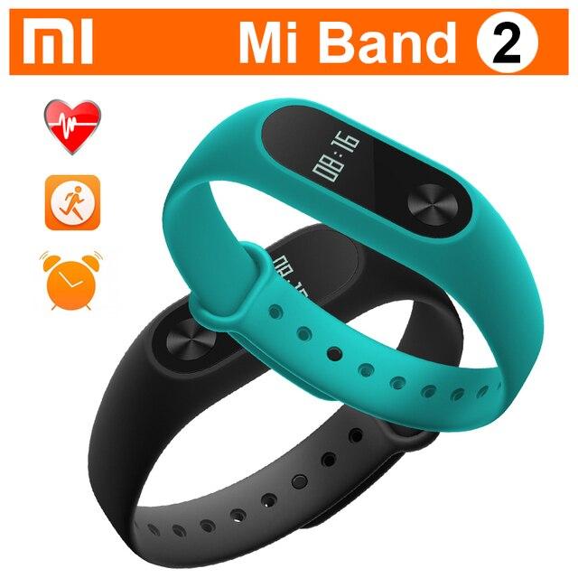 Original Xiaomi Mi Band 2 Heart Rate Monitor Pulse Smart Sport Fitness Bracelet Miband 2 Pedometer Tracker Wristbands mi band 2