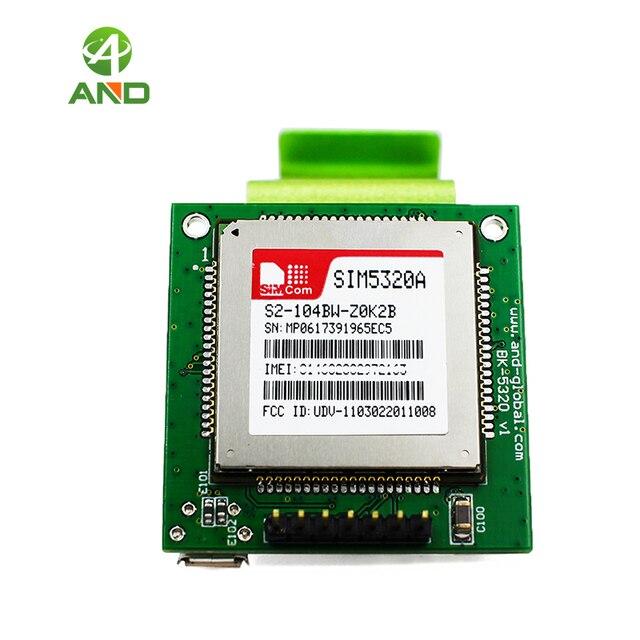 3G UART لوح مع 115200 باود ، SIM5320A 3G GSM GPRS GPS لوح تمديد ، مصغّر WCDMA/GPS اندلاع SIM5320A على متن 1 قطعة
