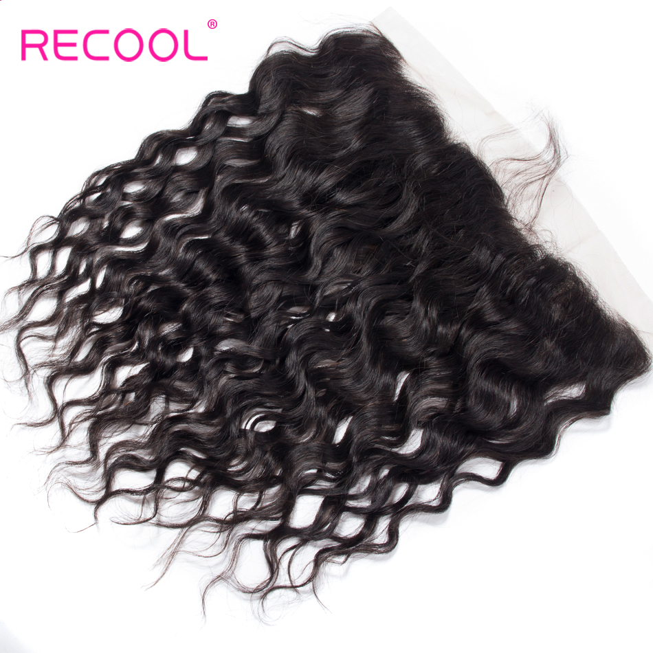 HTB1vedXnILJ8KJjy0Fnq6AFDpXao Recool Hair Brazilian Water Wave Bundles With Closure Remy Hair Lace Frontal With Bundles Deal Human Hair Bundles With Frontal