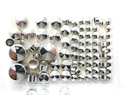 Motorcycle Motorbike Moto parts Chrome Topper Cover Bolt Caps For Harley Softail Twin Cam 2000 - 2006