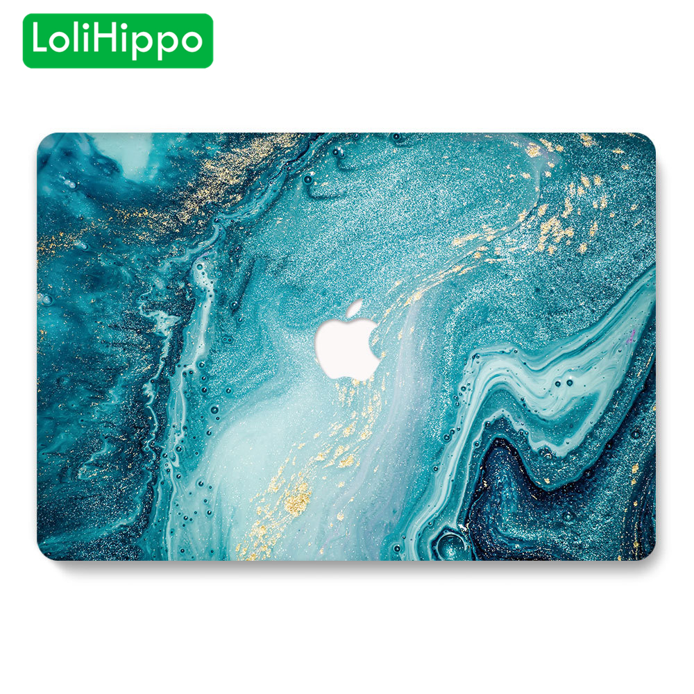 LoliHippo Laptop Protective Case For Macbook Air Pro 11 12 13 15 Inch A1466 A2159 Notebook Hard Cover