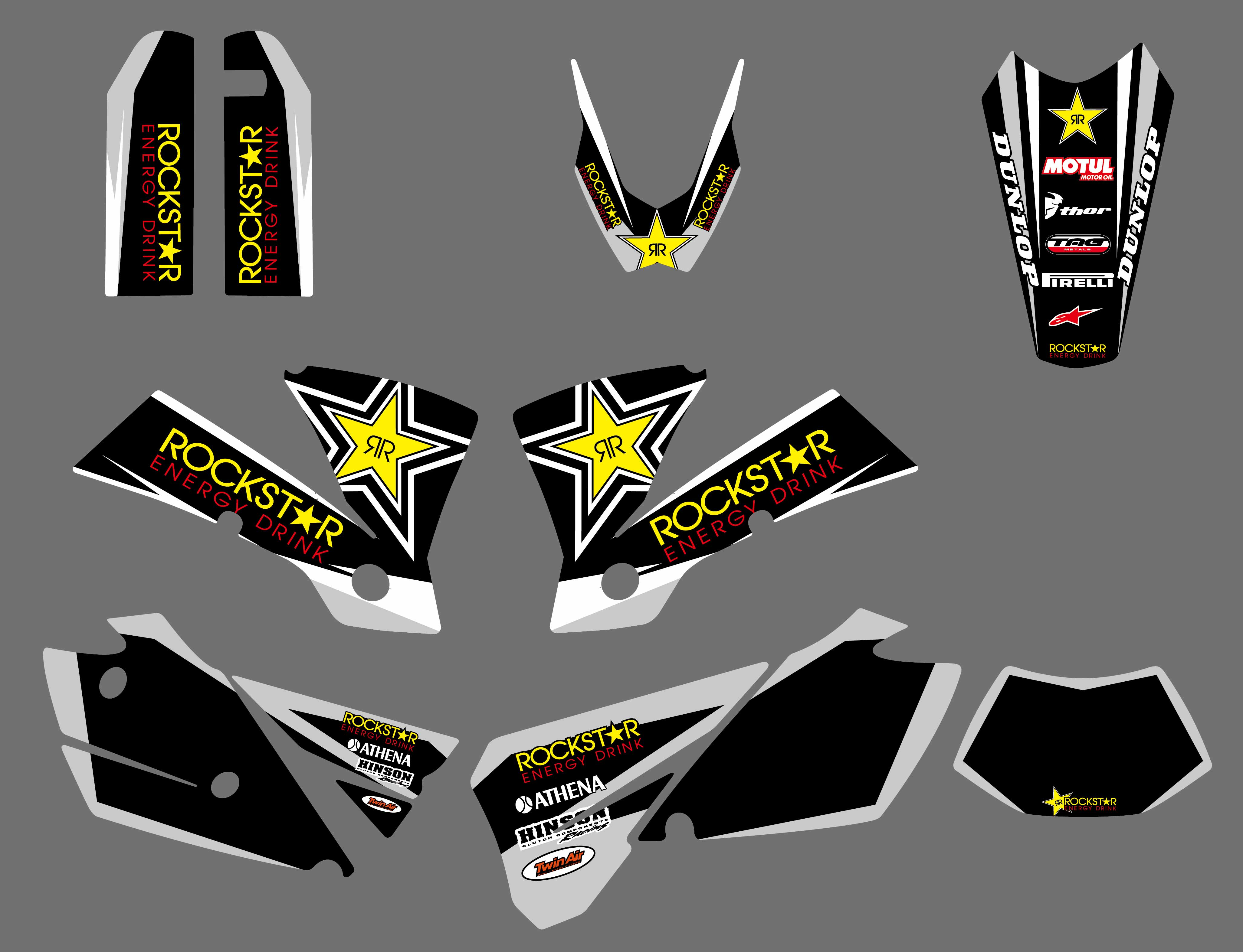 3M Motorcycle Graphics Decal Sticker For KTM EXC 125 200 250 300 400 450 525 2004