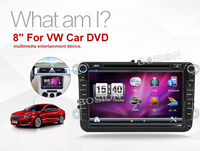 Bosion 2 Din Car Audio Car DVD Player GPS Radio For VW GOLF 6 Polo Bora