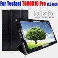 Для Teclast TBOOK16 Pro 11.6 Дюймов Case Luxury ИСКУССТВЕННАЯ Кожа Флип крышка планшетного пк Стенд Case Для TECLAST TBOOK 16 PRO TL14