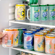 New Kitchen Accessories Coke Drink Can Space saving Cans Finishing Frame 4 Storage Box Refrigerator Storage