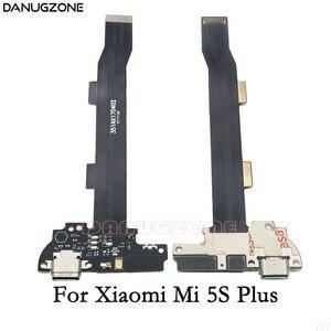 Image 4 - Prise de Charge USB prise connecteur prise de Charge Port de quai câble flexible avec Microphone pour Xiaomi Mi 5 5S Plus Mi 5 5S Plus