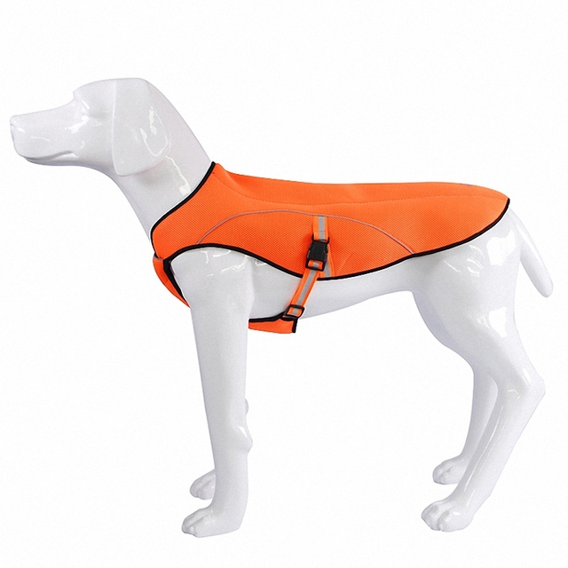 my pet air mesh cooling coat summer breathable cool pet dog clothes outdoor cooling dog jacket - My Pet Garden