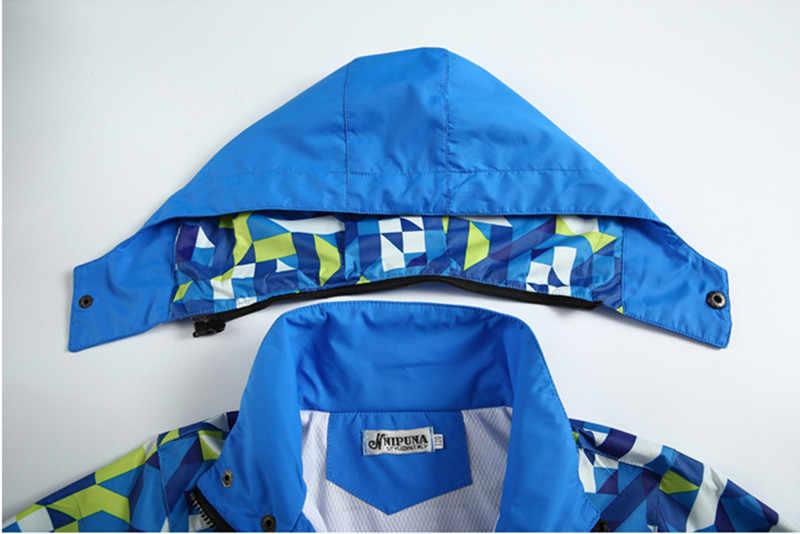 春の新作秋子供少年のジャケットコート子供のアクティブ服ダブルデッキ防水防風男の子 outwears 高品質