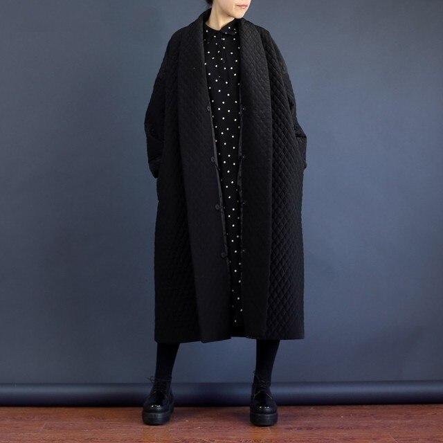 [Gutu] 2017 Корейский Европейский высочайшего качества куртка осень Для женщин большой бренд длинные свободные черный ветровка длинный плащ пальто WTH1201