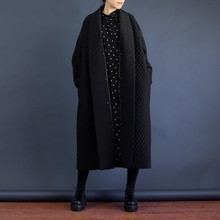 Женский длинный тренчкот LANMREM, свободная черная непродуваемая куртка большого размера  в европейском стиле, модель WTH1201 высокого качества на осень и зиму, 2019