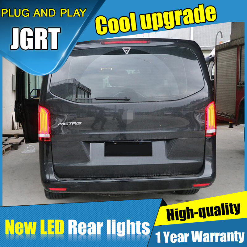 Dynamic turn signal taillights For Mercedes Benz Vito Metris led Tail light Assembly DRL Brake Reverse