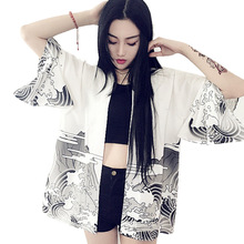 Women's Chinese Dragon Printed Jacket