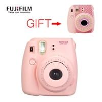 Fujifilm Instax Mini 8 Camera con il Girasole Adesivi Fuji Mini8 Immediata Rullino Foto Bianco Rosa Blu Rosso Spedizione gratuita