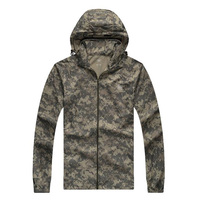 Men S Summer Brand Hiking Hooded Jackets Sport Jaqueta Casual Windbreaker Male Camouflage Coat Outdoor Sportswear