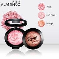 Фламинго 3 цвета профессиональный макияж Румяна Косметические румяна основа пудра для красоты A1007x