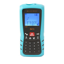 купить Rechargeable Laser Distance Meter Waterproof Rangefinder M1 40M Tool Distance Meter Blue Range Finder Measure Distance Tester по цене 2110.25 рублей