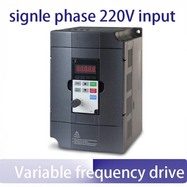 1.5KW einphasig 220 v zu drei phase frequenzumrichter 50 hz 60 hz ...