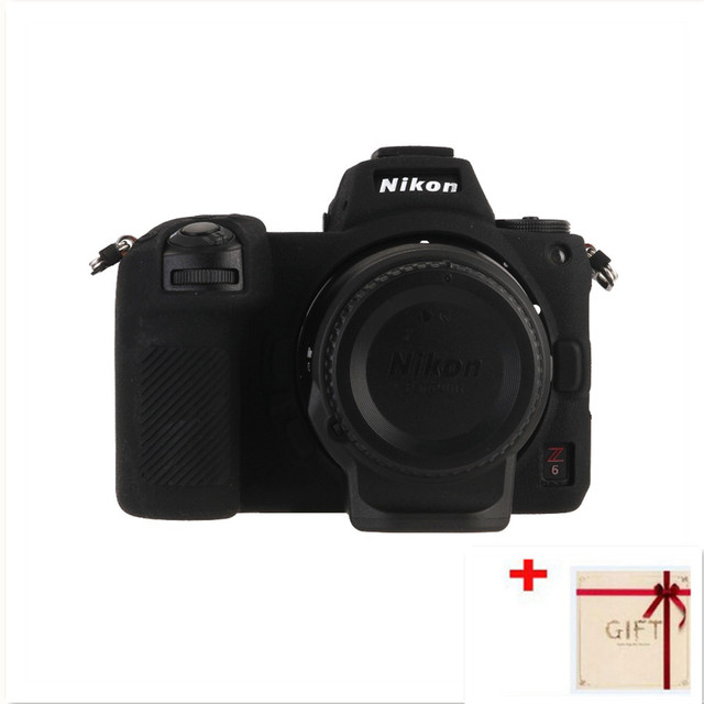 High quality Soft Silicon Case Body Protective Cover Protector Frame  Skin for Nikon Z7 Z6 Camera accessories with Clean pen