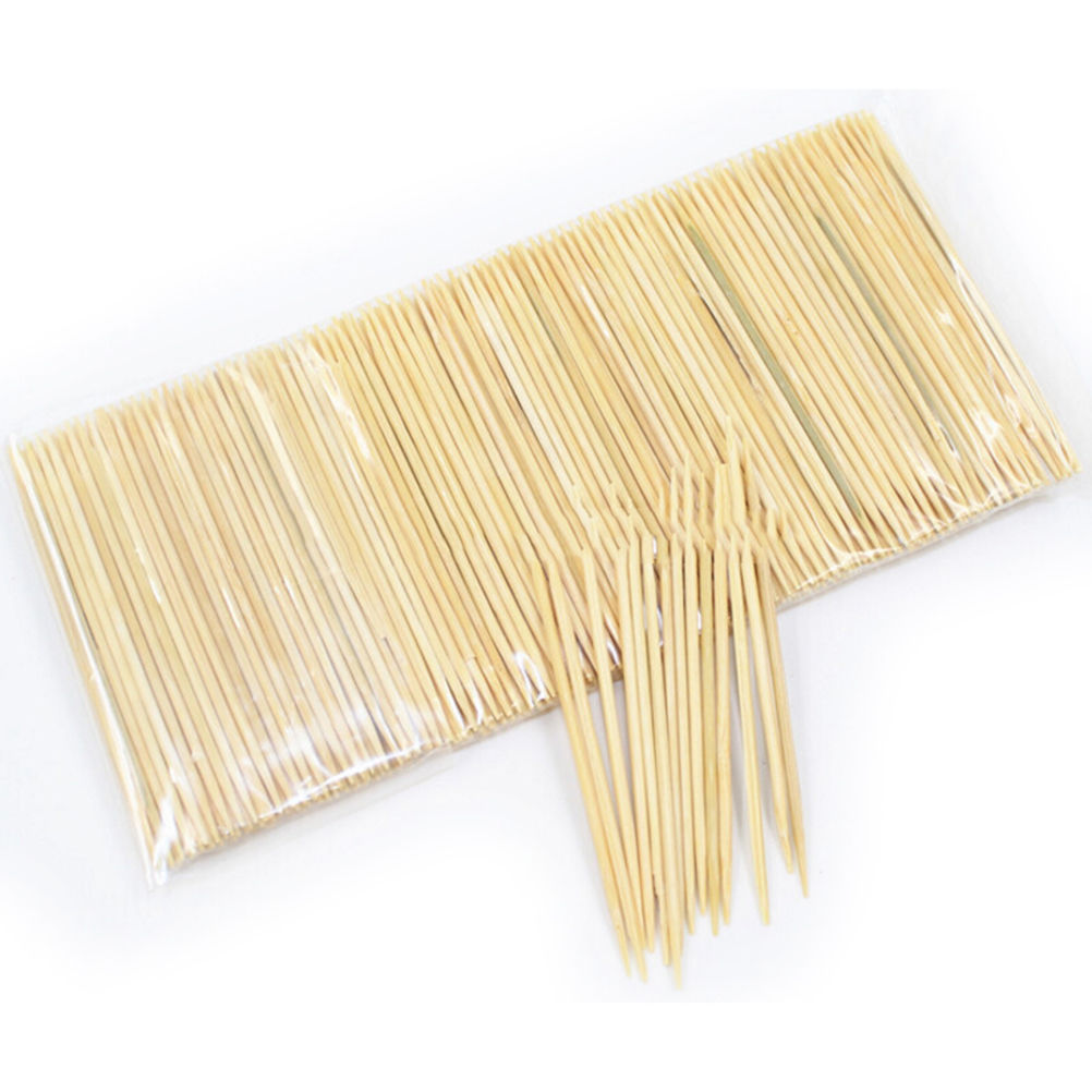 1 Bag Disposable Eco friendly Bamboo Toothpicks Wooden