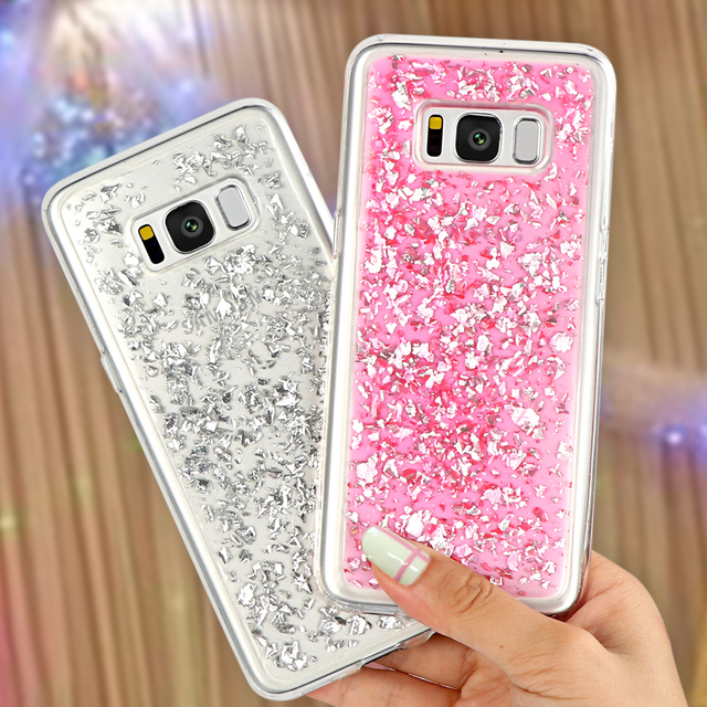 more photos a4199 df491 US $2.39 |Platinum Phone Case for Samsung Galaxy S6 S7 Edge S8 S9 Plus Note  8 A3 A5 J3 J5 J7 2016 2017 Cover for iPhone X 5 6 6S 7 8 Plus-in Fitted ...