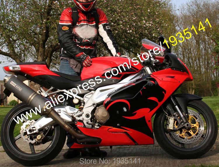 Hot Sales,Red Black Fairing Kit For Aprilia RSV1000 Parts 03 04 05 06 RSV 1000 2003 2004 2005 2006 Bodyworks Motorcycle Body Kit hot sales for bmw k1200s parts 2005 2006 2007 2008 k1200 s 05 06 07 08 k 1200s yellow bodyworks aftermarket motorcycle fairing