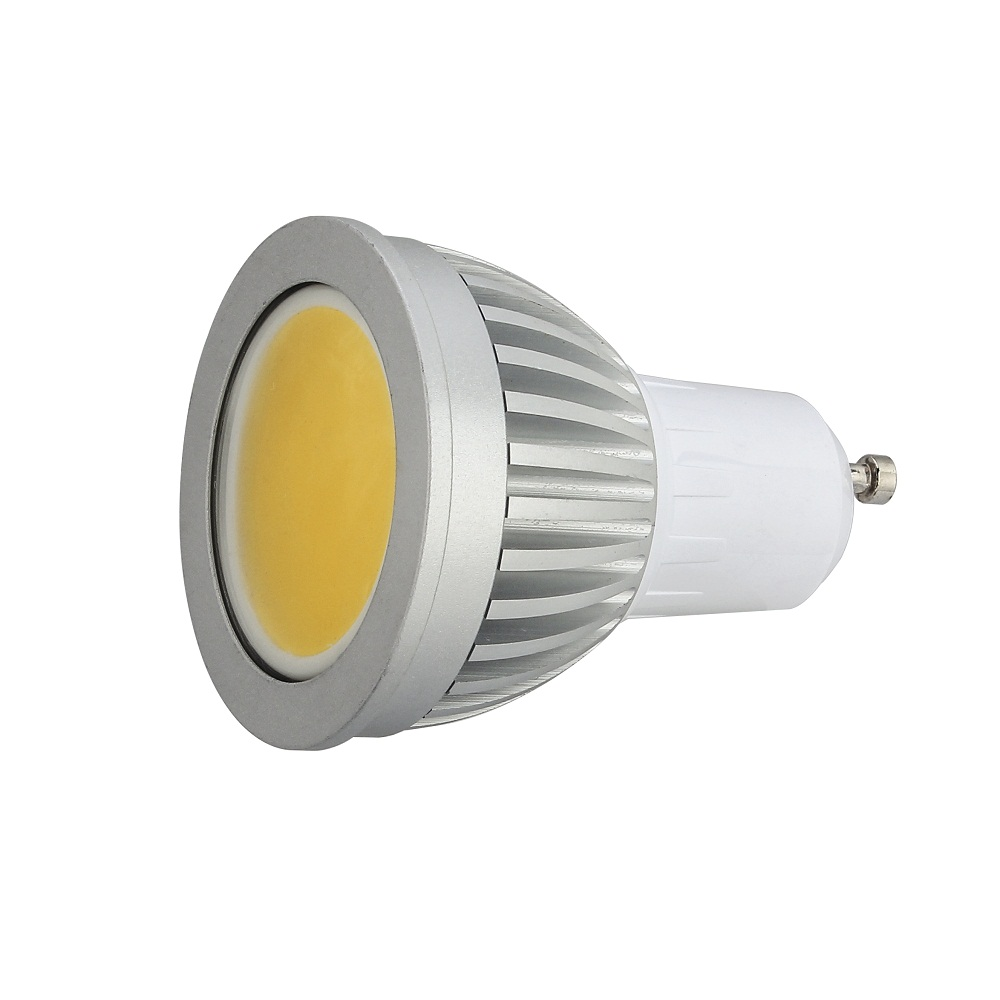 50Pcs/Lot GU10 COB LED Spot Light GU10 5W/7W/9W Warm White/Cool White AC 85V-265V High Brightness LED Spotlight Support Dimmer