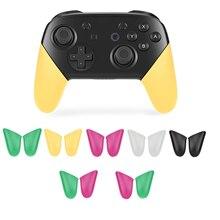 1 пара нескользящих ручек для геймпада ДЛЯ NS Nintend Switch Pro контроллер консоли игровые аксессуары Запчасти
