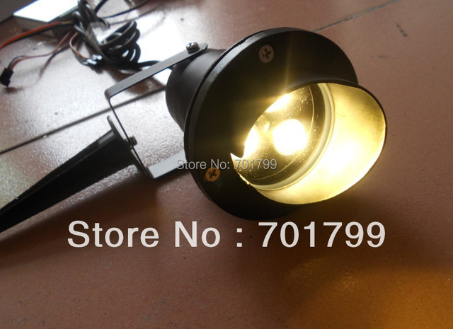 3*1W LED Lawn light,DC12V input;led garden light