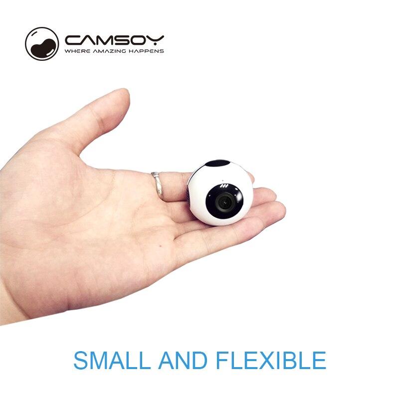 C8 Camsoy Mini Câmera WI-FI AP P2P Conectar com o Telefone Móvel HD 720 p Camcorder DVR DV 2018 Novo Design mini Cam