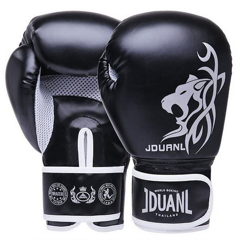 Muay Thai Boxing Gloves MMA Sanda Marziale Guanto 2018 Donne uomini Bambini E Adulti Lotta Sandbag Formazione boxeo Guanti luvas Guantes