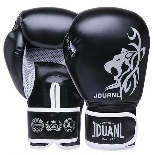Muay Thai Sarung Tinju Sarung Tangan MMA Sanda Bela Diri 2018 Wanita pria Anak Dan Dewasa boxeo Melawan Karung Pasir Pelatihan Mitts luvas Guantes