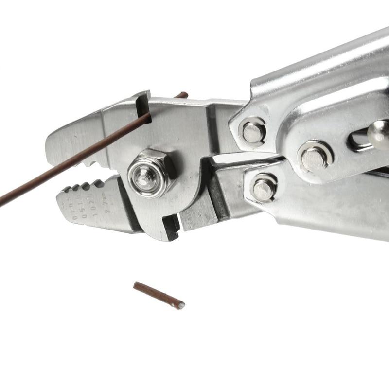 Инструмент для обжима проводов, зажим для троса, щипцы для рыболовных линий, щипцы для стальных тросов и наконечников размером 0,1 мм-2,2 мм