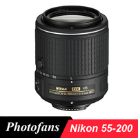 Nikon AF S DX 55 200mm F 4 5 6G ED IF VR Vibration Reduction Lens