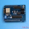 ESP8266 Sever Web WiFi de Serie Junta Módulo Con ESP-13 Shield Para Arduino uno R3